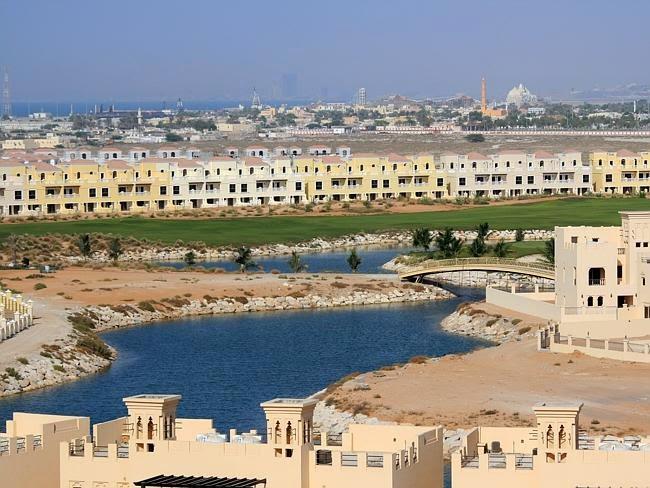 Pemandangan indah di Ras al Khaimah