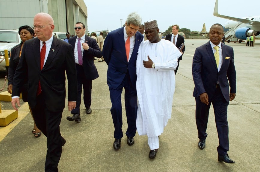 US Secretary of State, John Kerry visits Nigeria