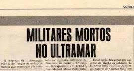 JOVENS MORTOS NO ULTRAMAR / CONFIRA A LISTA