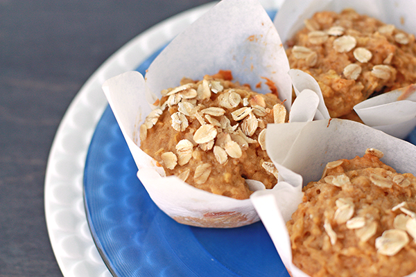 apple blackberry breakfast muffins