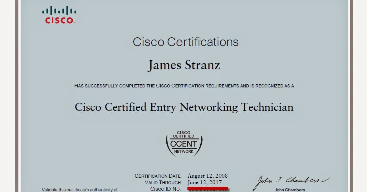 Jims Ccent Workshop My Ccent Certificate Has Arrived