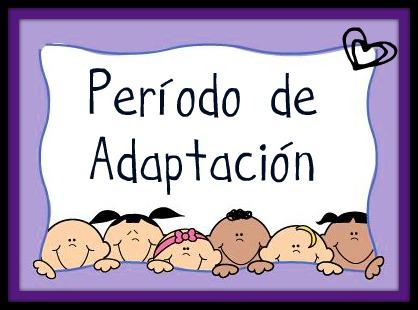 Maestras de educaci n inicial periodo de adaptaci n for Adaptacion jardin infantil