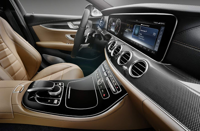 Mercedes-Benz Classe E 2017 - interior