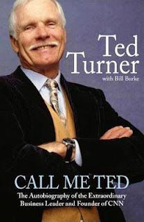 Ted Turner autobiografia frases de motivacion