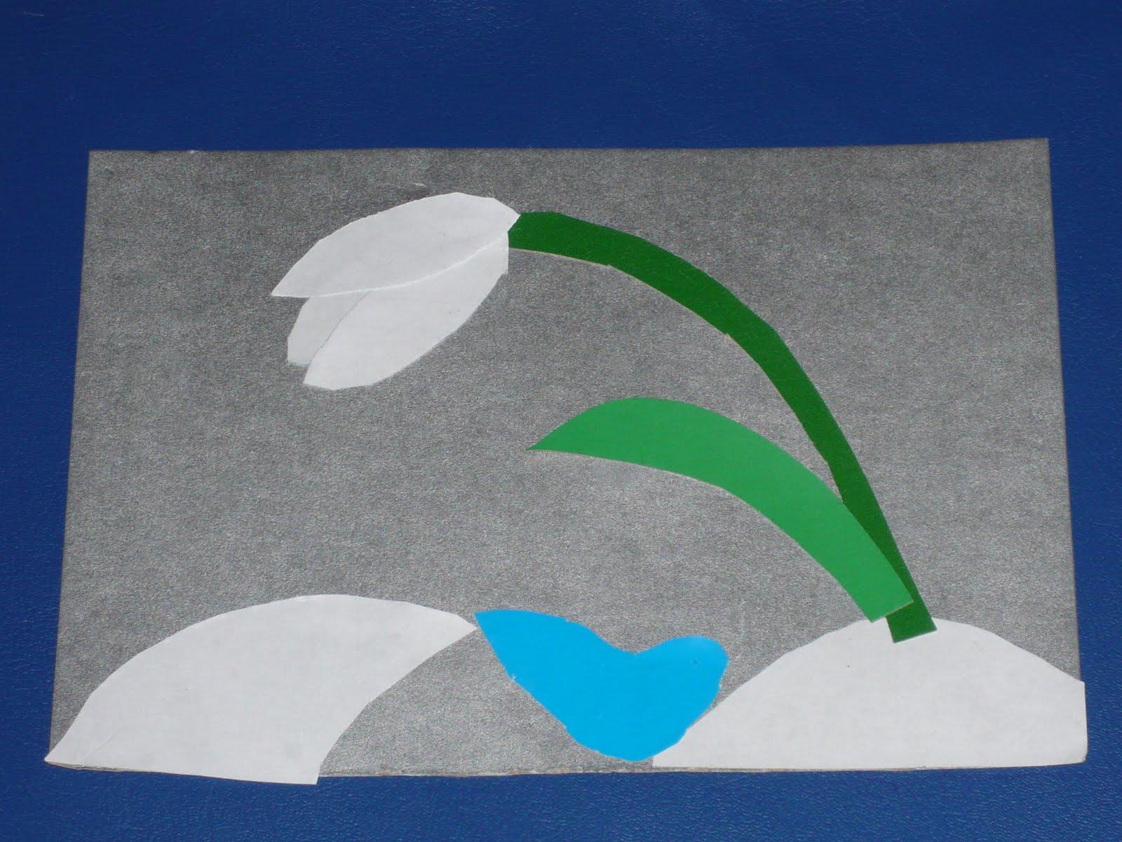 Поделки из цветной бумаги для весны