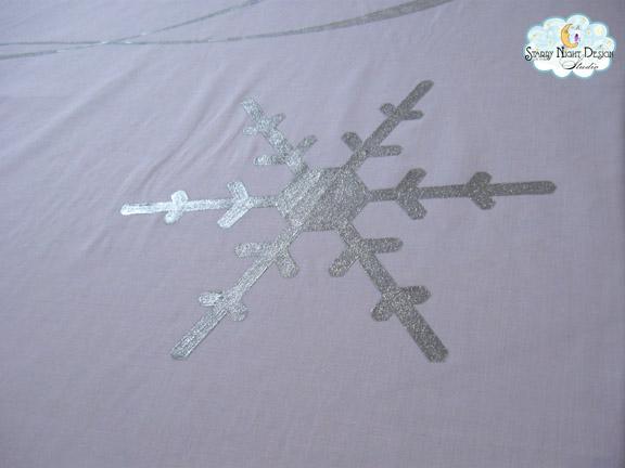 Aisle Paint For You Cindi 39 S Glitter Snowflake Custom Aisle Runner