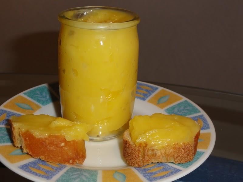 La cuisine de kittie lemon curd sans beurre - Lemon curd sans beurre ...