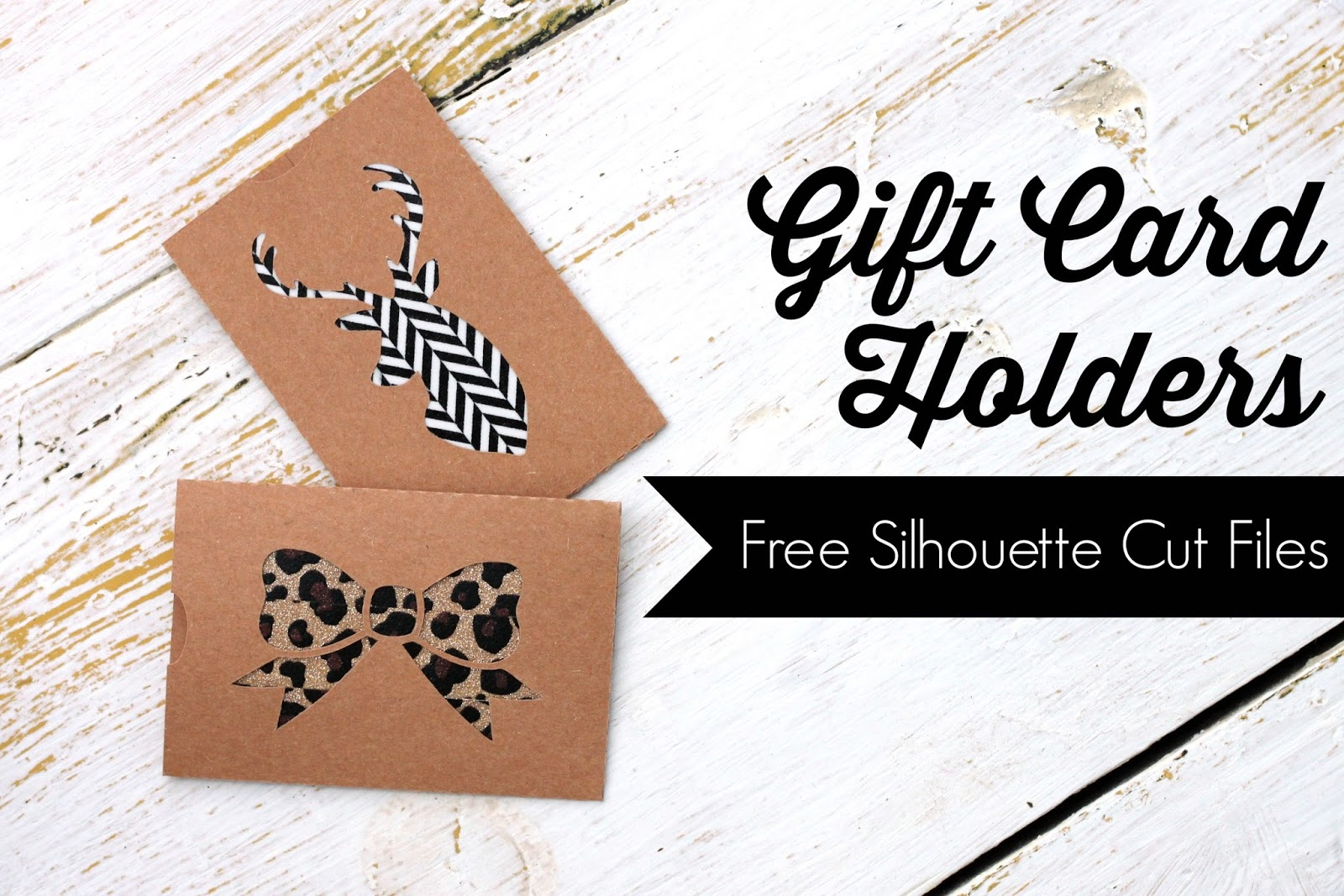 Pitterandglink diy gift card holders with free silhouette cut files diy gift card holders with free silhouette cut files via pitterandglink negle Choice Image