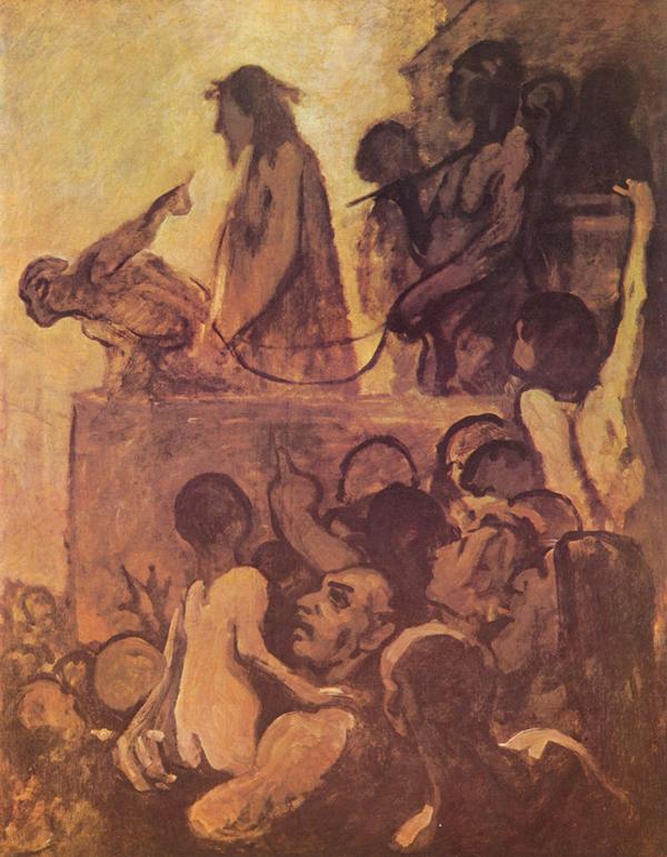 imagen Ecce homo Daumier