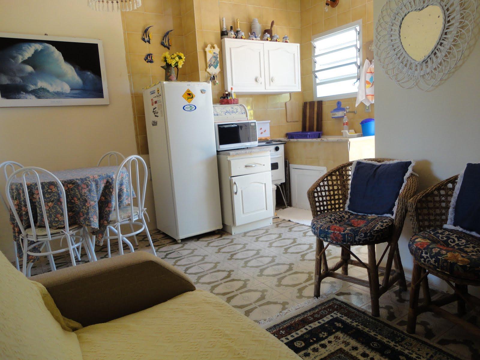 Apto 101 Sala De Estar Copa Cozinha Tramandai Apto 101 -> Sala E Cozinha Mesmo Ambiente