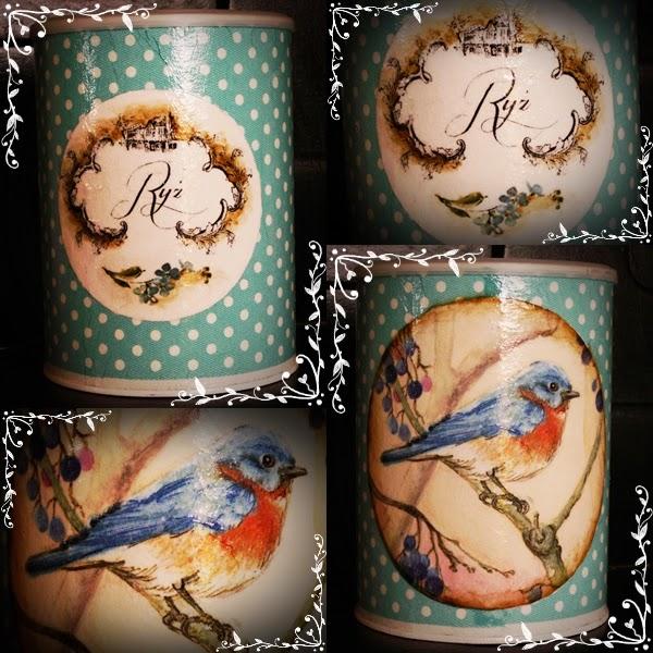 Miętowy ptaszek – puszka #2