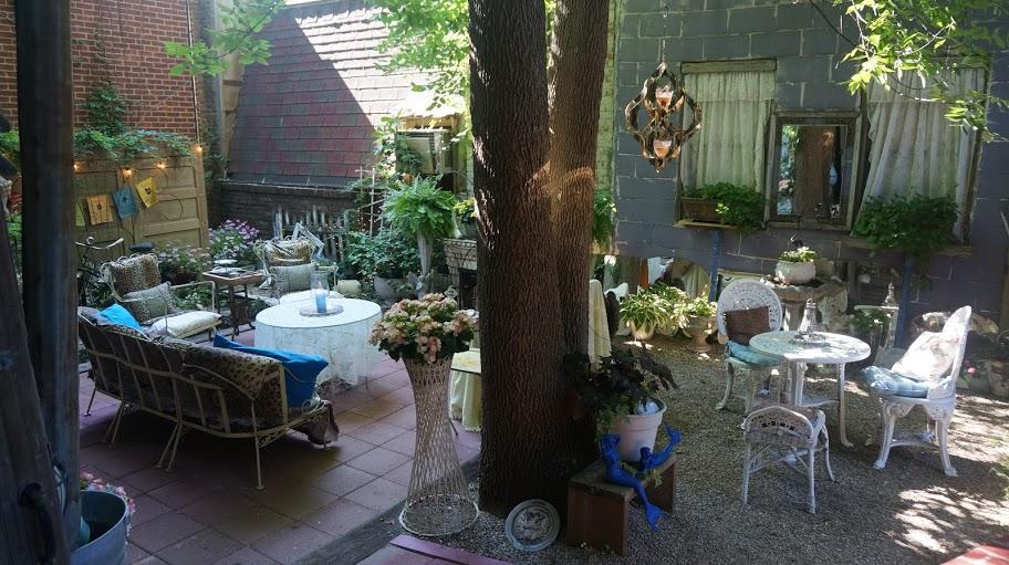 Our Story Studios - Courtyard Garden