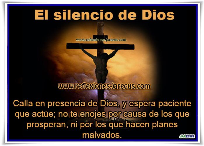 Silencio en la Cruz en la Que Había Una Cruz