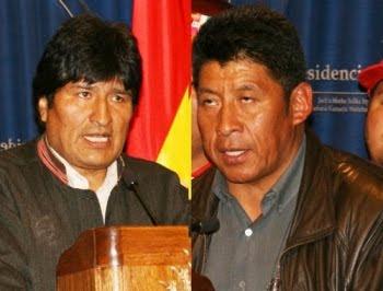 """diálogo sin suspensión de las medidas de presión. Evo desde Cochabamba """"me querían dinamitar"""""""