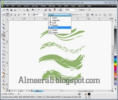 Corel Draw X5 Download Free Reflection Of Creative Ideas