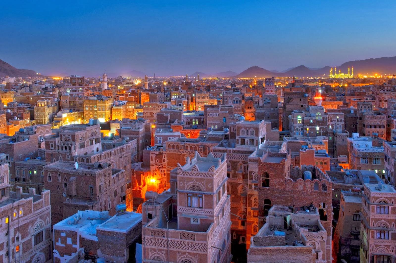 Pergelator: Sana'a, Capital of Yemen