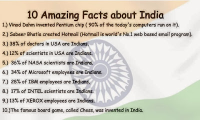 10 amazing facts about india