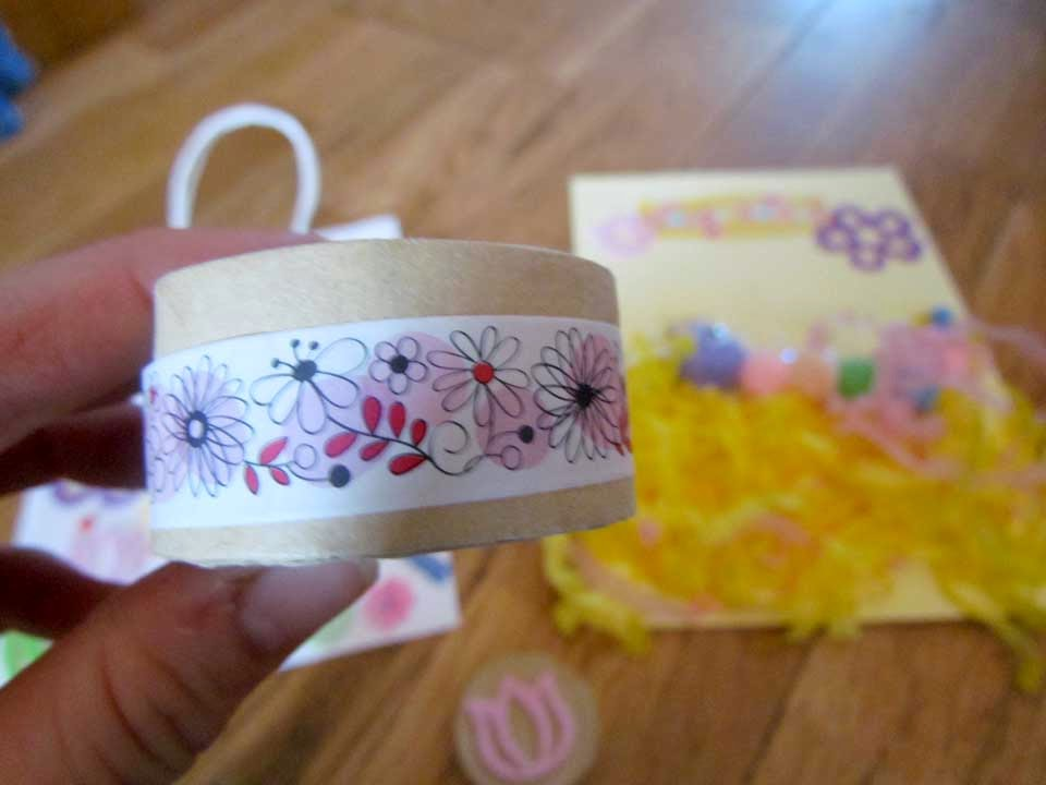 Using Washi tape