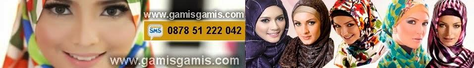 baju gamis busana muslim wanita katun kaos sifon spandex - 0878 51 222 042 - www.gamisgamis.com