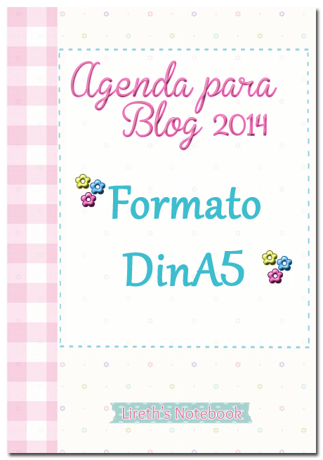 Agenda 2014 Lireth's Notebook