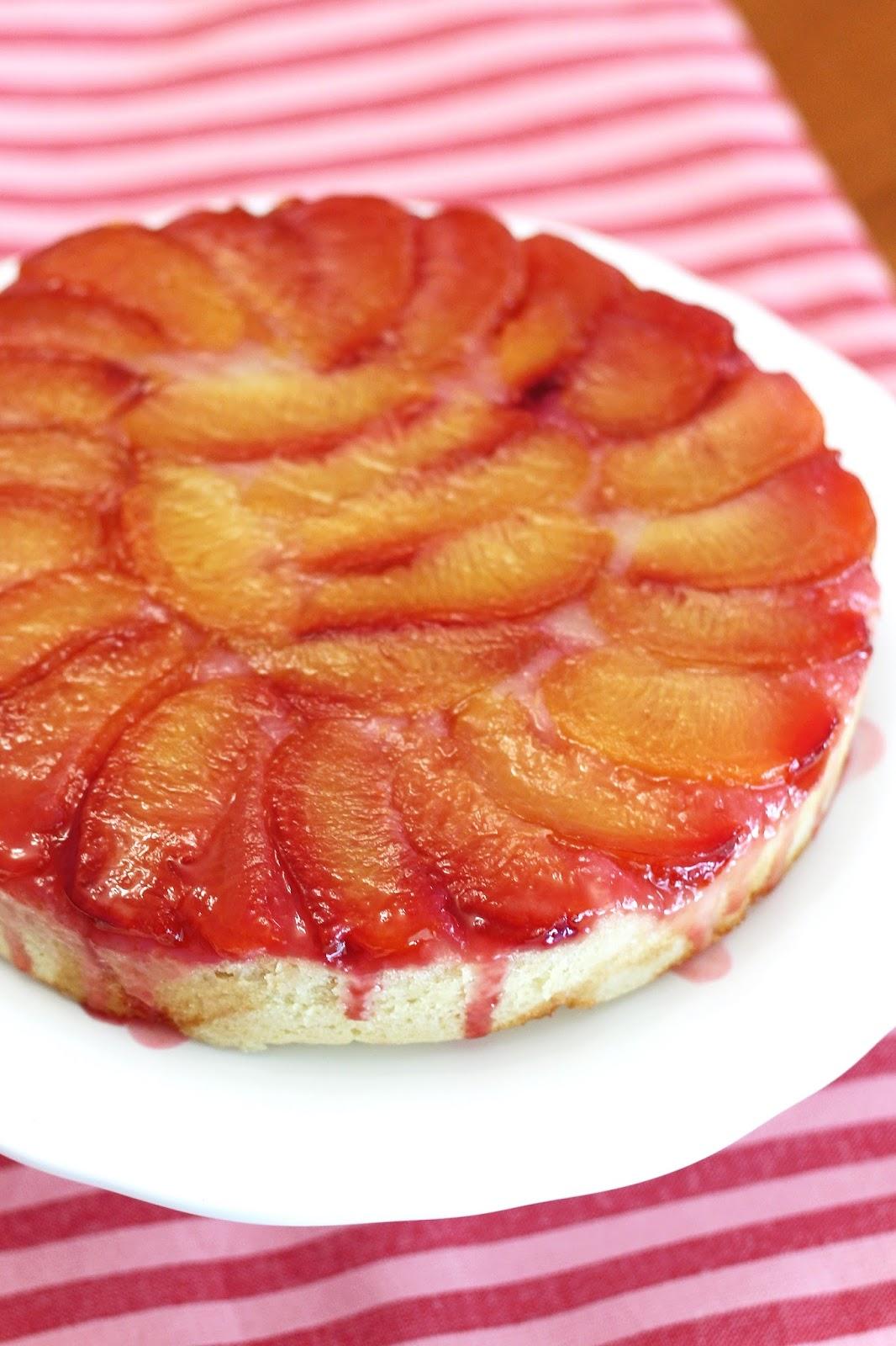 ... Bakes Gluten Free Treats: gluten free vegan plum upside down cake