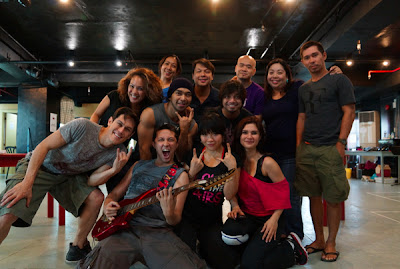Rock of Ages Manila production