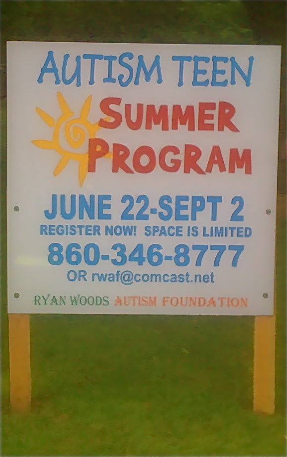 Autism Teen Summer Program. at 1:26 PM Posted by Stephen Devoto