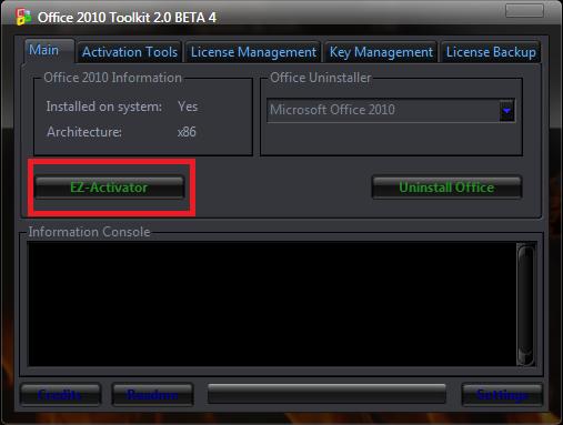 Activador de Office 2010 Definitivo