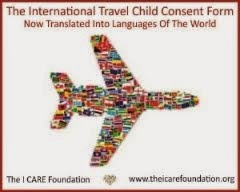 Hague Focused International Travel Child Consent Form Now In Various Languages From Around World