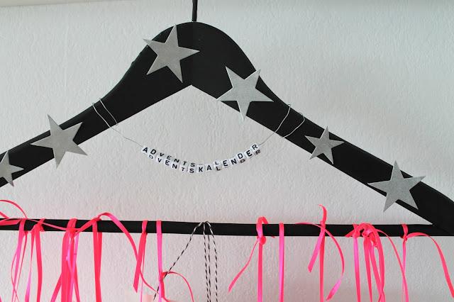 Adventskalender DIY Kleiderbuegel Tafellack Teens