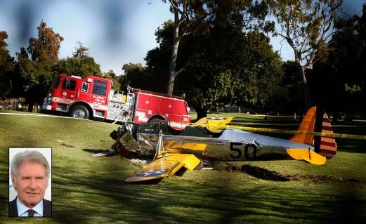 Harrison Ford Cedera Parah Pesawatnya Terhempas Di LA, info, terkini, hiburan, sensasi, berita, artis hollywood