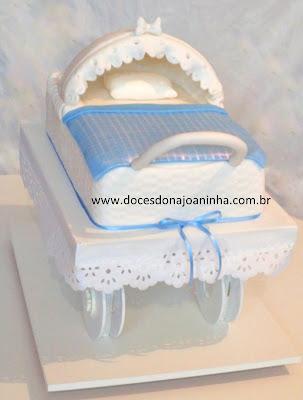 bolos  decorados cha de bebe