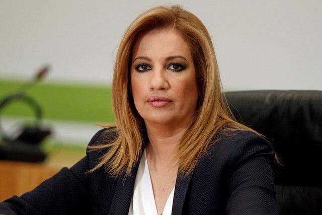 Νέα πρόεδρος του ΠΑΣΟΚ η Φώφη Γεννηματά