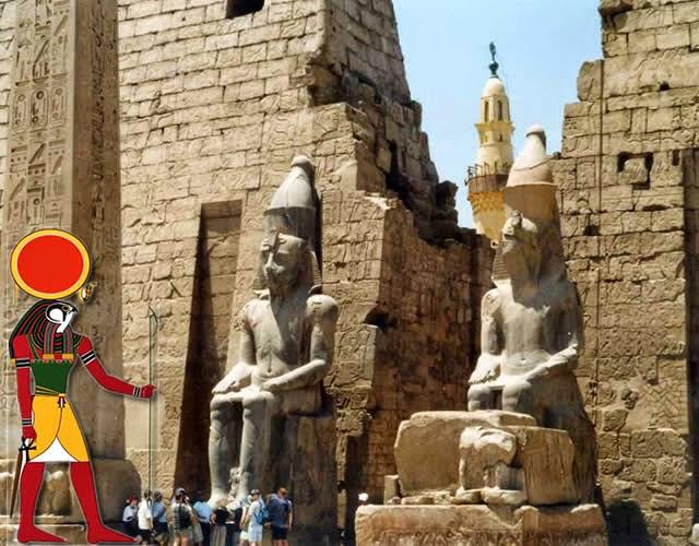 Templo do Deus Amon-Ra - ( Templos Karnak ), Luxor, Egito   Temple of the God Amun-Ra Egypt