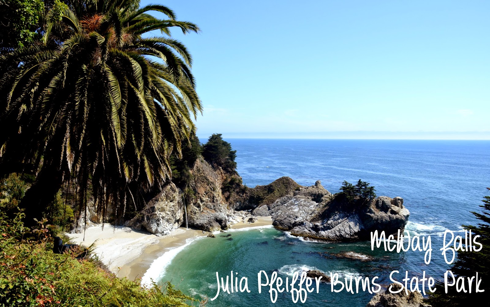 McWay Falls, Julia Pfeiffer Burns State Park, Big Sur, Californie, USA
