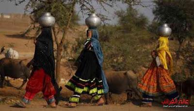 زوجات المياه، الهند، عالم العجائب