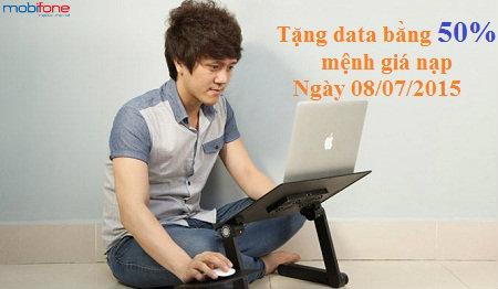 Khuyến mãi data khi nạp thẻ cho thuê bao Fast Connect