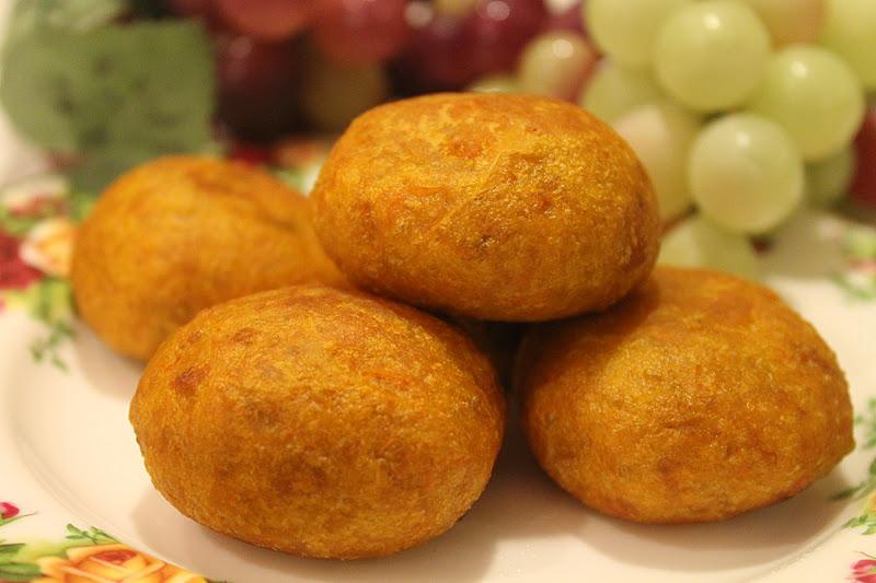 Kuih Cucur Badak - Azie Kitchen