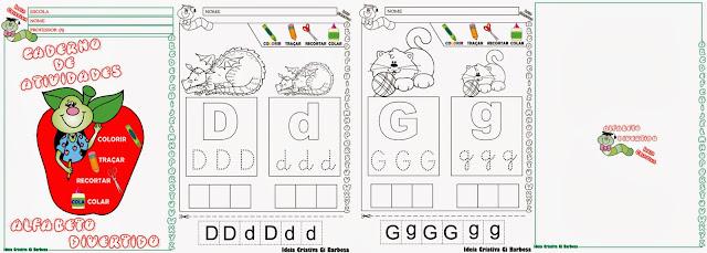 Caderno de Atividades Alfabeto Divertido