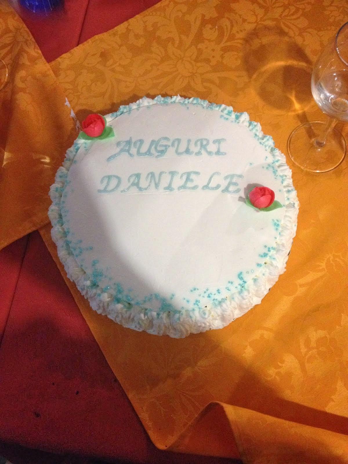 Torta compleanno Daniele