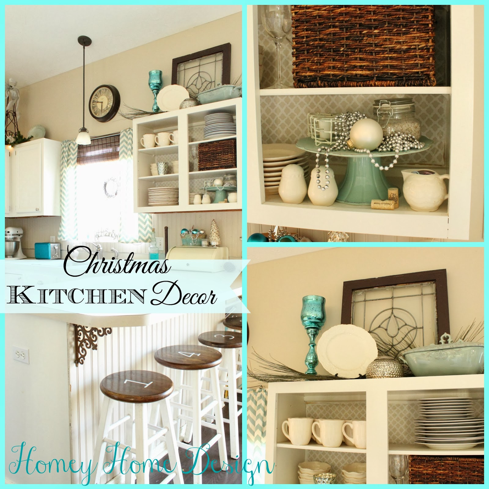 Homey Home Design: Christmas In The Kitchen