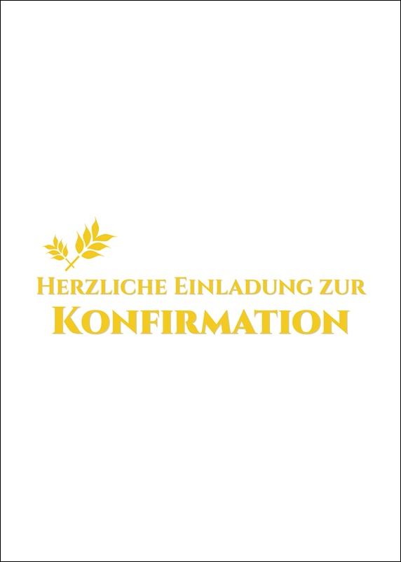 glückwünsche und sprüche zur konfirmation: einladungskarte zur, Einladung