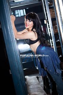 hot Finare Flo for Popular World Magazine, March 2013
