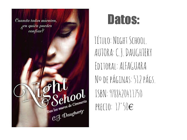 Reseña: Night School - C.J. Daugherty