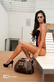 Fotos da Clarisa Abreu - Irmã do Loco Abreu 3