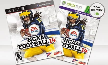 Ncaa football 14 ps3 coupon