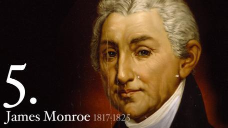 JAMES MONROE 1817-1825