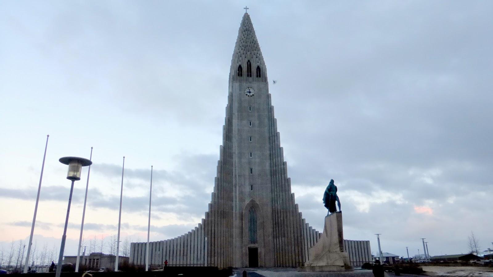 Hallgrimskirkja Islandia