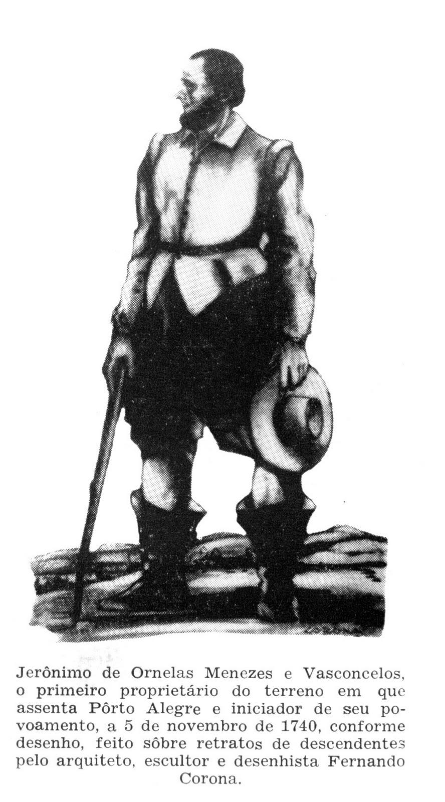 "Descendentes do ""Sesmeiro do Morro Santana"" - Jerônimo de Ornellas"