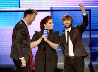 Lady Antebellum at AMA 2012